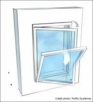 Fenêtre oscillo-battante Profils Systèmes