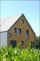 Une maison d'architecte en bois près de Strasbourg