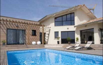Une belle maison individuelle basse consommation en Saône et Loire.