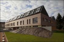 Un bâtiment de bureaux bioclimatique en Saône et Loire