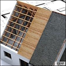 Un écran de sous-toiture pour renforcer l'étanchéité à l'air