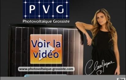 Clara Morgane  : nouvelle égérie du photovoltaïque