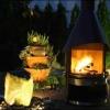 Poitiers : une cheminée-barbecue, l'alternative écologique aux parasols chauffants