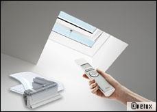 Des fenêtres de toit avec détecteur de pluie