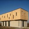 Une maison d'architecte sur une petite parcelle constructible à Oberschaeffolsheim