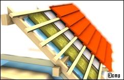 Poitou Charentes : aides à l'isolation de toitures, combles perdus ou habitables, toitures-terrasses