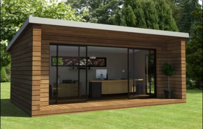 Une extension de maison réalisée en deux jours