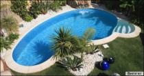 Installer une piscine définitive exemple à Belfort
