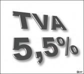 TVA à 5,5%