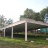 Construction d'une maison à pilotis près de Firminy