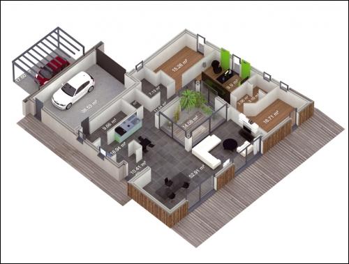 une maison autonome nergie positive pour recharger sa voiture lectrique. Black Bedroom Furniture Sets. Home Design Ideas