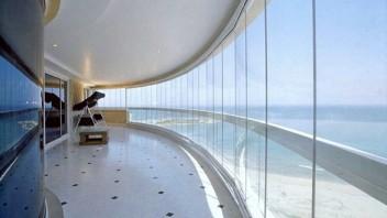 Balcon mur de verre Glass Systems Prodalu