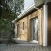 Façade en bardage bois pour maison individuelle