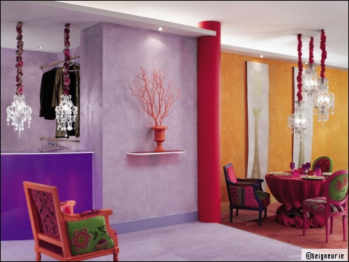 Color Block : La nouvelle tendance peinture ! - Travaux.com