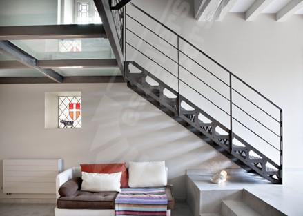 Sol en verre Escaliers Décors