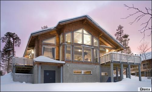 Une maison bois comme un chalet... ou pas!  - Travaux.com