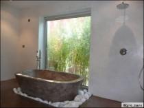 Une salle de bains en béton ciré: est-ce vraiment pratique?