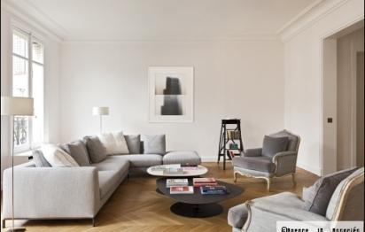 Architecture d'intérieur : un appartement parisien entièrement repensé