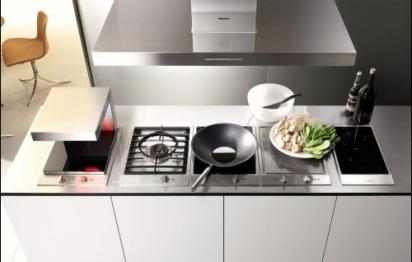 5 id es pour s parer la cuisine du salon for Quelle hotte aspirante choisir