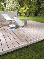 Terrasse en bois composite Lapeyre