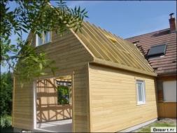 Prix d 39 une extension en ossature bois 2018 for Agrandissement maison moins de 40m2