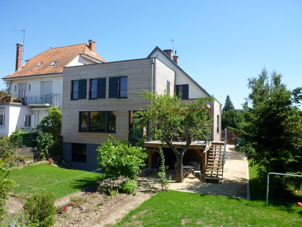 Extension de maison Sébastien MALGRAS Architecte
