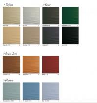 Palette de couleur du Cedral