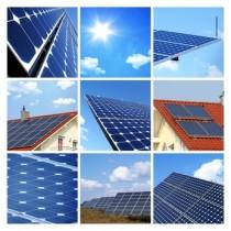 Panneaux solaires photovoltaïques ©CMP