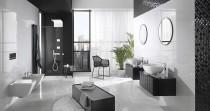 Salle de bains LOUNGE Diamonds ©PORCELANOSA