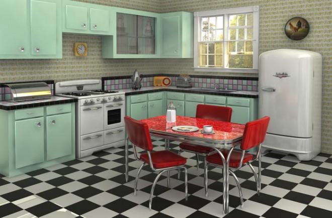 Astuces Pour Aménager Une Cuisine Vintage Travaux Com