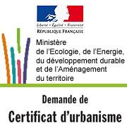 Certificat d'urbanisme ©Ministère de l'écologie