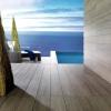 Terrasse en grès cérame ©Porcelanosa