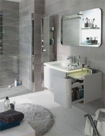 Aménager une petite salle de bains DR