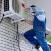 Pose d'un climatiseur ©CMP