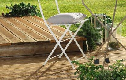 Terrasse en bois © SILVERWOOD
