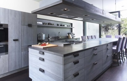 Cuisine contemporaine loft ©Xavie'z