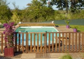 Barrières de sécurité piscine ©PiveteauBOIS