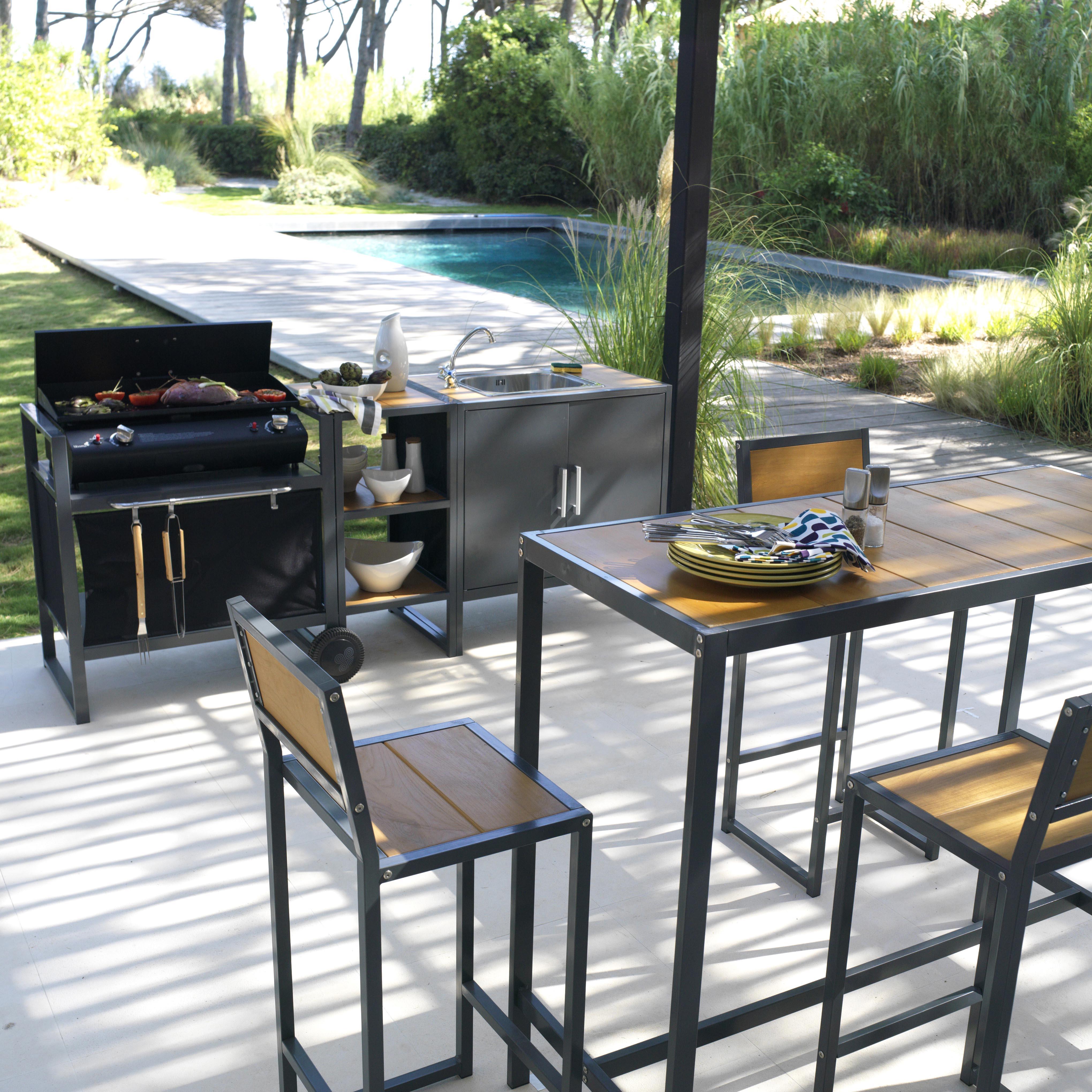 je veux am nager une cuisine d 39 t. Black Bedroom Furniture Sets. Home Design Ideas