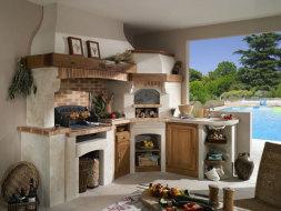 Prix de construction d 39 une cuisine d ext rieur - Faire une cheminee en cuisine ...