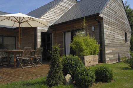 Maison en bois de plain pied ©TRECOBAT