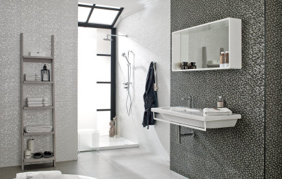 Carrelage de salle de bains Madison Antracita© Porcelanosa