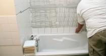 Carrelage de salle de bains APR Renovation