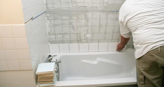 Poser du carrelage au sol soi m me Pose carrelage sol salle de bain