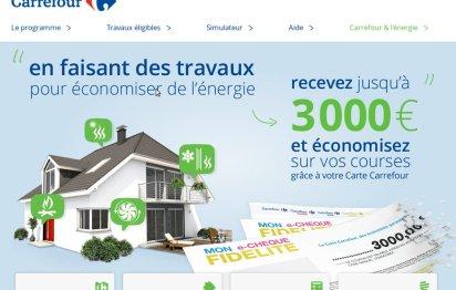 Prime éco-travaux © Carrefour