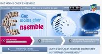Site Gaz moins cher ensemble © UF-Que-Choisir
