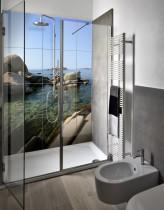 Carrelage de salle de bains ©Carrelage photo