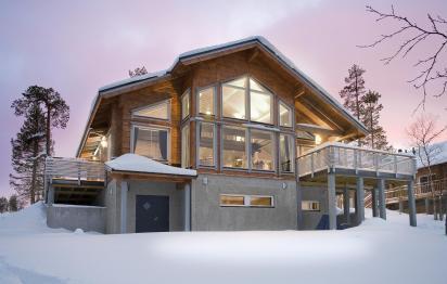Maison en bois Honka