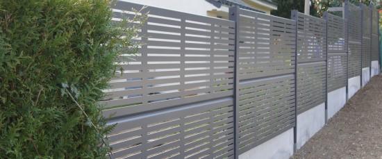 Clôture de jardin en aluminium Ambellya