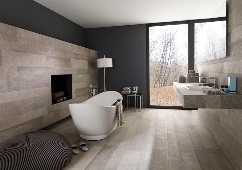 10 salles de bains qui font la tendance 2014 - Lambris Pvc Salle De Bain