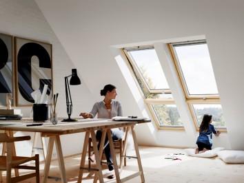 Fenêtre de toit ouverture à projection © Velux